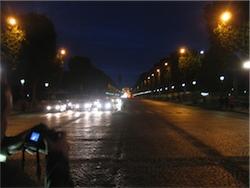 Paradgatan Champs Elysees Paris