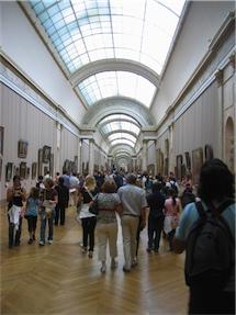 Inside Le Louvre