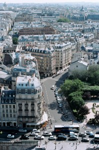Paris ovanifrån